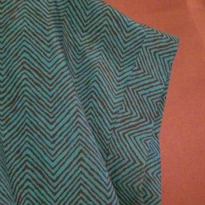 Forever 21 Turquoise Blouse
